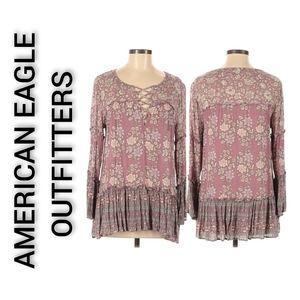 American Eagle Outfitters Tunic Medium Boho